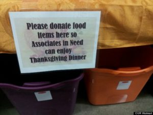 The Employee Matters Wishes Workers Living Wages for a Happy Thanksgiving
