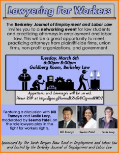 Lawyering for Workers