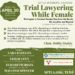 "Leslie Levy to Speak on ""Trial Lawyering While Female"""