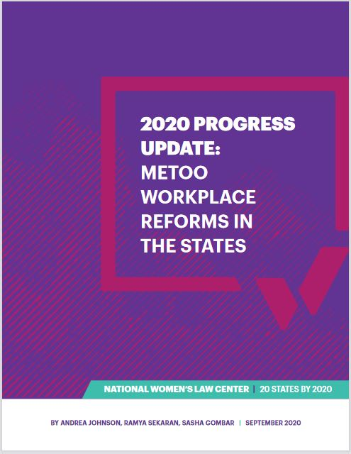 Cover of the NWLC 2020 Progress Update