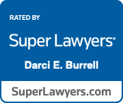 Super Lawyer badge for Darci Burrell