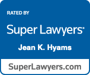 Super Lawyer badge for Jean Hyams