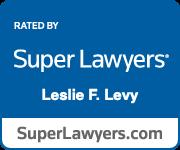 Super Lawyer badge for Leslie Levy