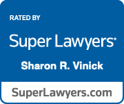 Super Lawyer badge for Sharon Vinick